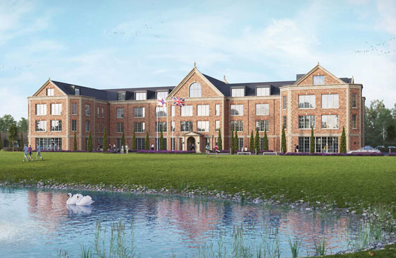 Imperial Corporate Capital PLC unveils plans for a luxury 5* golf resort on the outskirts of the historical town of Cambridge