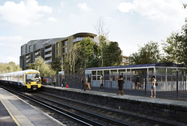 Greenhithe Station development